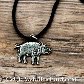 Necklace white boar Richard III