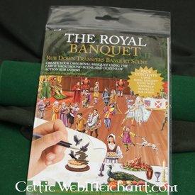 Frotar abajo panorama Royal banquete