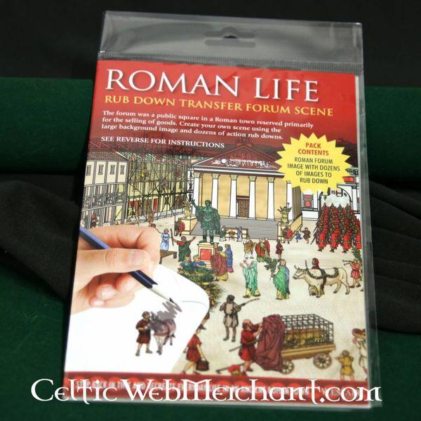 Rub down panorama rzymskiego forum