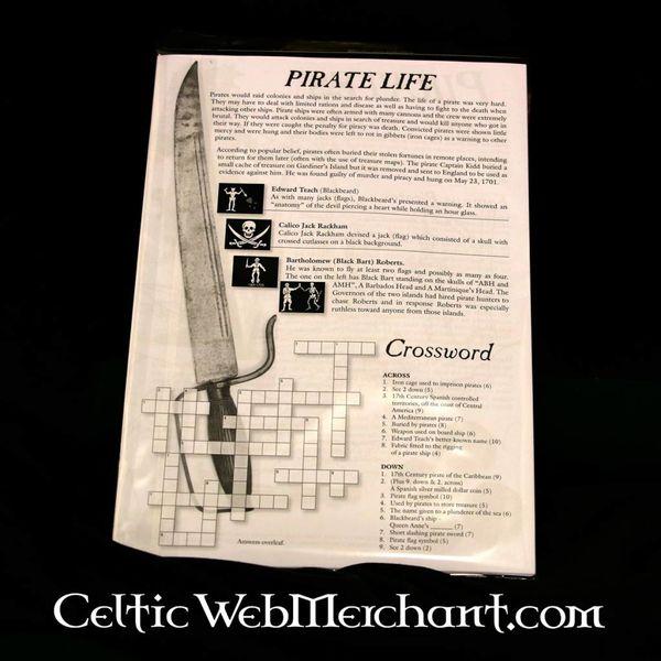 Bezbarwny i aktywność ustawić Pirate