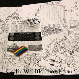 Farve - og aktivitet, set Viking