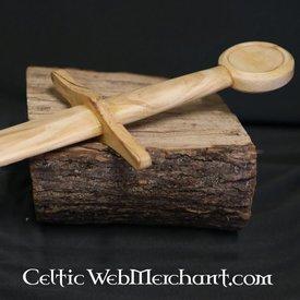 Træ uddannelse sværd ridder sværd