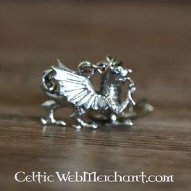 Welsh dragon keychain
