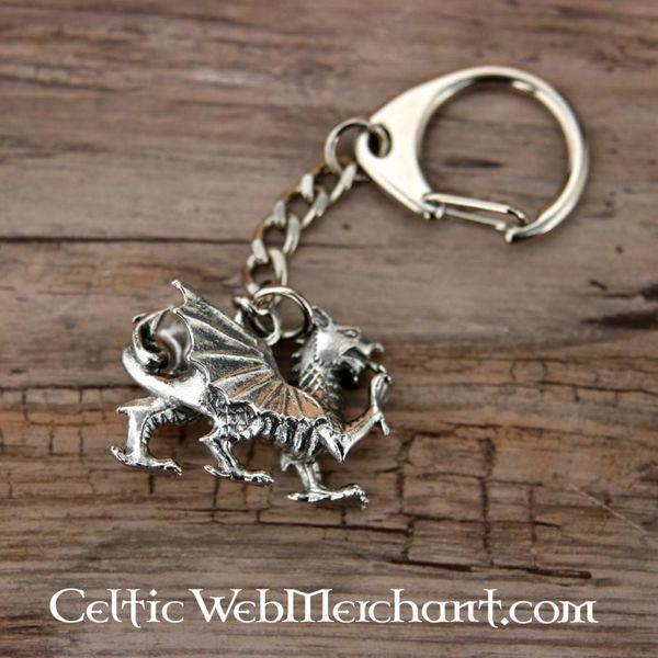 Welshe draak sleutelhanger