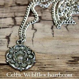 Tudor rose pendant