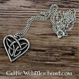 Ciondolo cuore celtico
