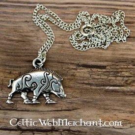 Pictish vildsvin vedhæng Knocknagael