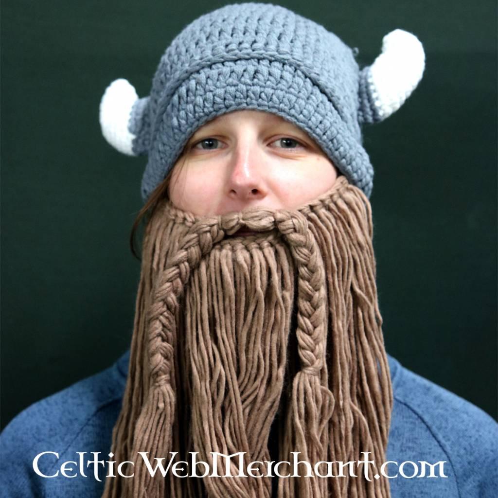 Gebreide vikingmuts met baard l - Outs idee open voor levende ...