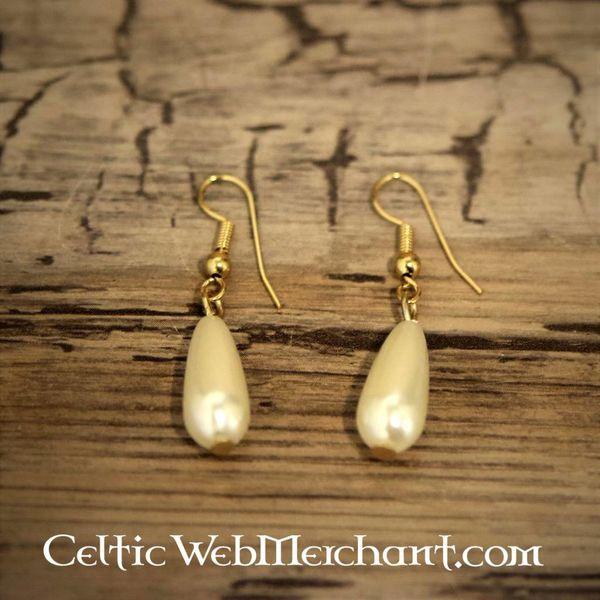 Boucles d'oreilles perle romaine