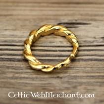 Bague Viking suédoise, plaqué or