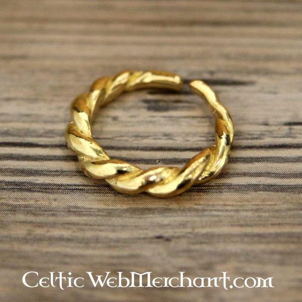 Anillo sueco Viking, dorado