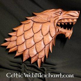 Sculpture sur bois Wolf