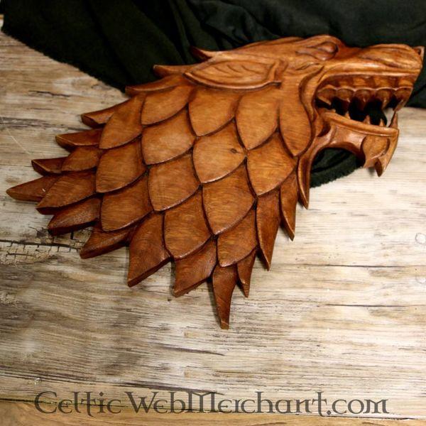 Drewno rzeźba Wilka
