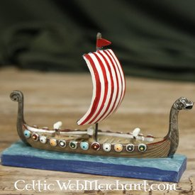 Viking longship model