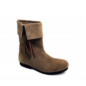 Historiske børn støvler brune