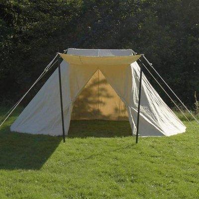 Saksiske telte