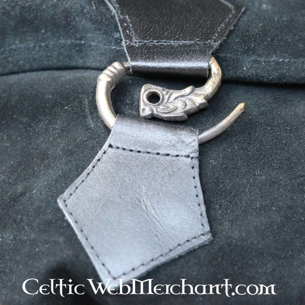 Bæltetaske dragon, sort