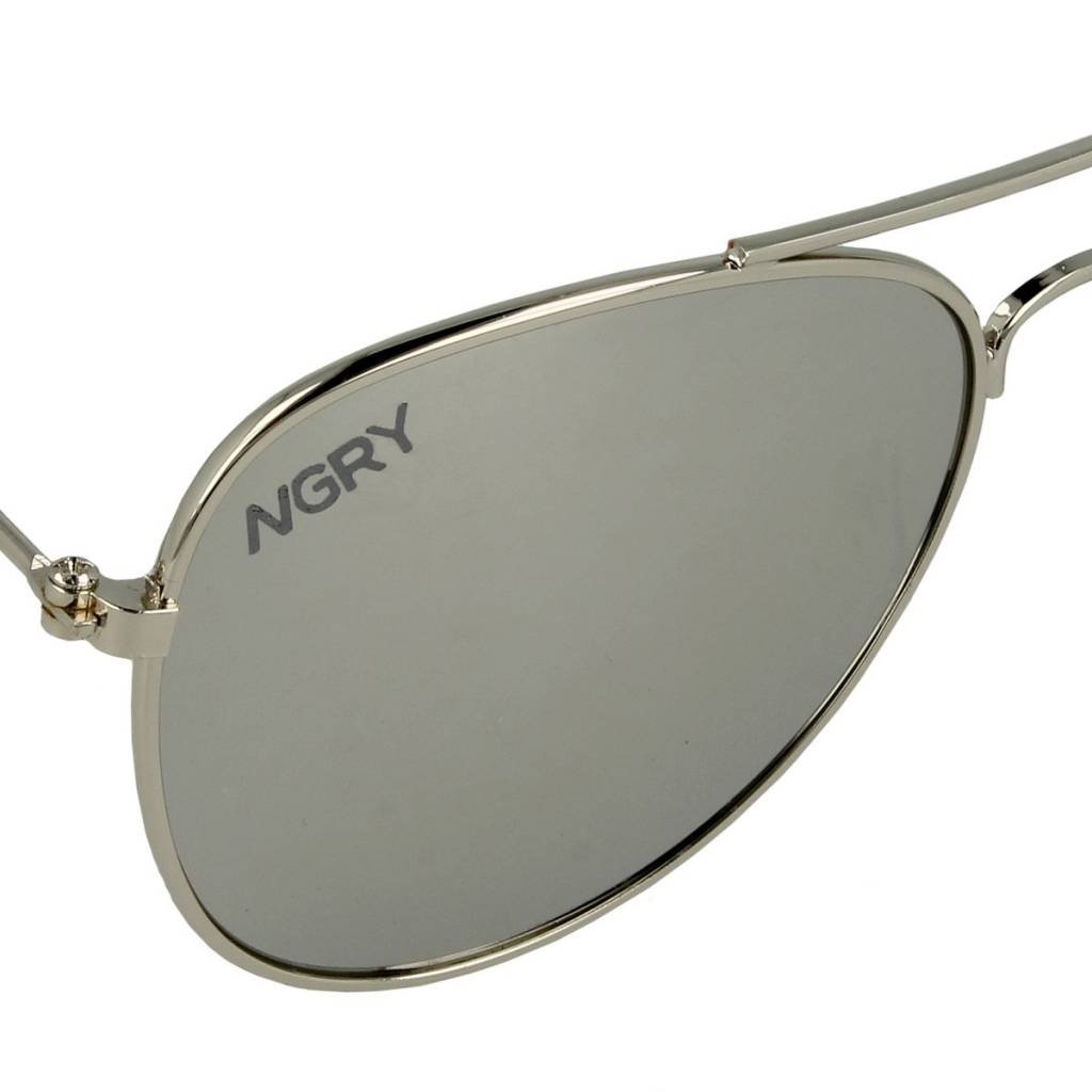 NGRY Pilot jr Silver Mirror