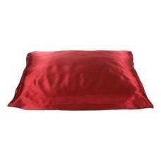 Beauty Pillow Satijnen Kussensloop Rood