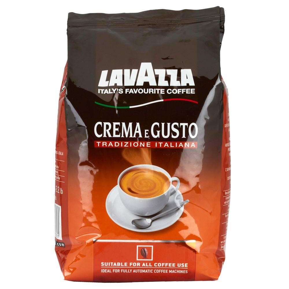 Lavazza Crema e Gusto tradizione bonen 1 kg. vanaf € 10.13