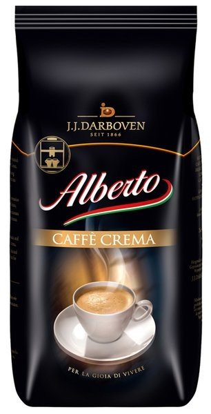 Alberto Caffe crema bonen 1 kg. vanaf € 7.70