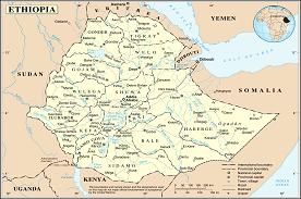 Ethiopie prvincie Kaffa