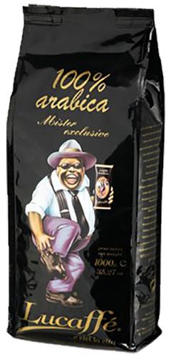 Lucaffé Mr. Exclusive 100% arabica bonen 1 kg. vanaf € 18.95