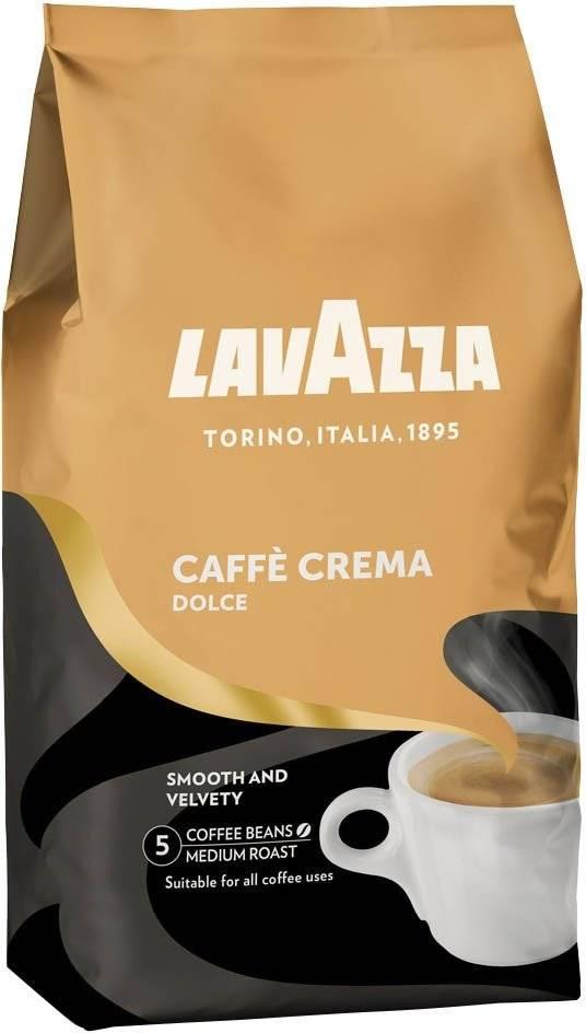 Lavazza Dolce Caffè crema bonen 1 kg. vanaf € 10.50