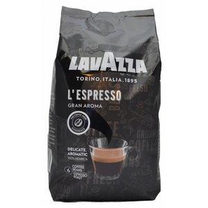 Lavazza Gran Aroma Bar is Espresso Gran Aroma   bonen 1 kg.