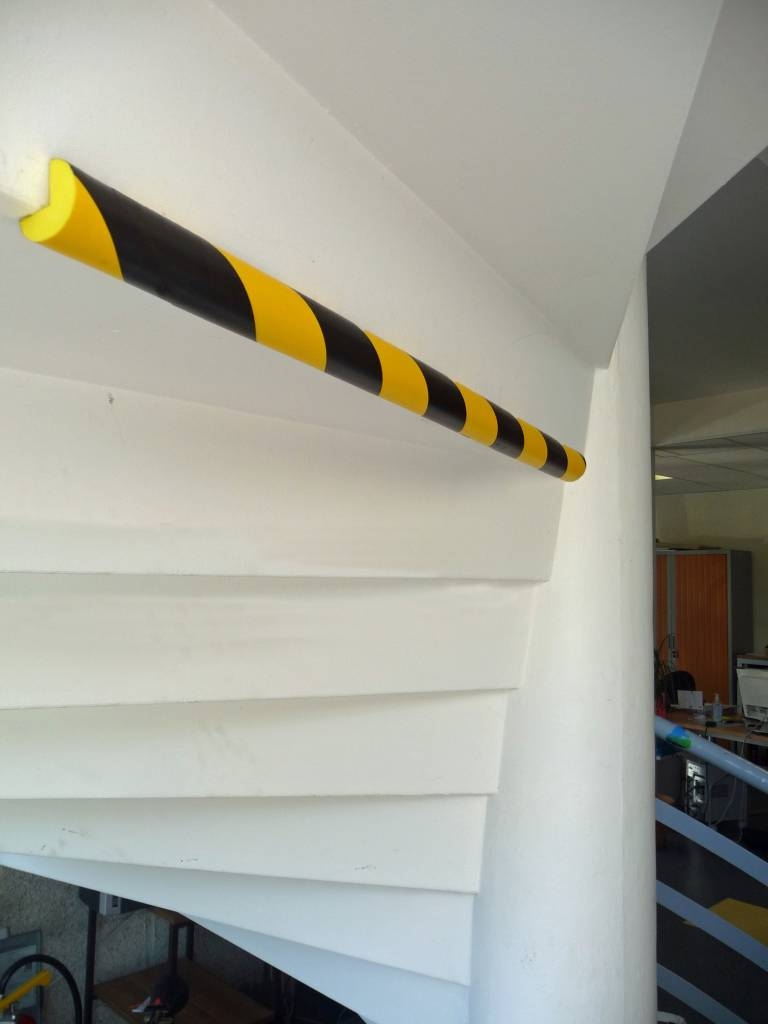 Rounded Foam Edge Protection Strips Traffic Shop