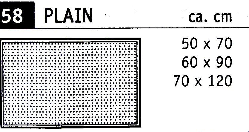 Rhomtuft Badteppich Plain, 100% Baumwolle  Teppich Hemsing