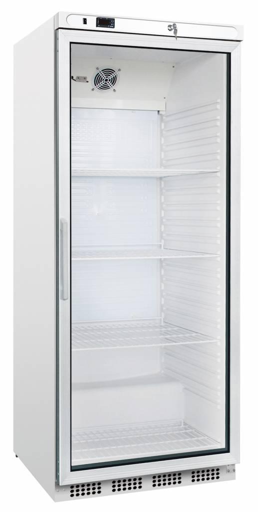 Flaschenkühlschrank mit Glastür 800 Liter Umluftkühlung - Gastrotrade24