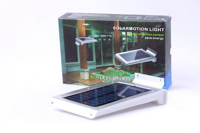Buitenlamp Met Sensor Gamma.46 Led Solar Motion Light Energie Groep Nederland