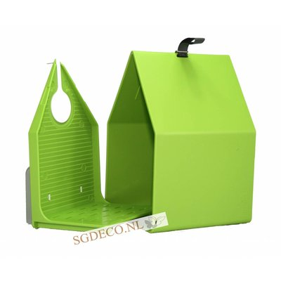 Landhaus vogelhuis lime groen, het ideale nestkastje