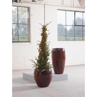 Plantenbak Moda Partner 74 klassiek rood