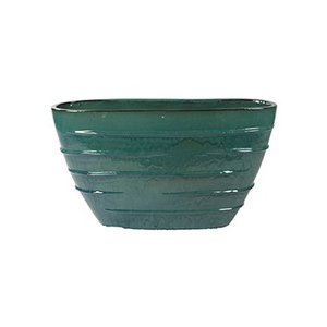 Beauty Oval turquoise Ø90x35x50cm