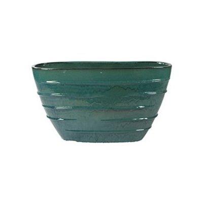 Plantenbak Beauty Oval turquoise