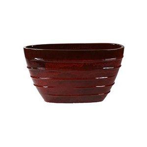 Beauty Oval klassiek rood  Ø90x35x50cm