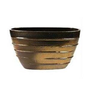 Beauty Oval goud  Ø90x35x50cm