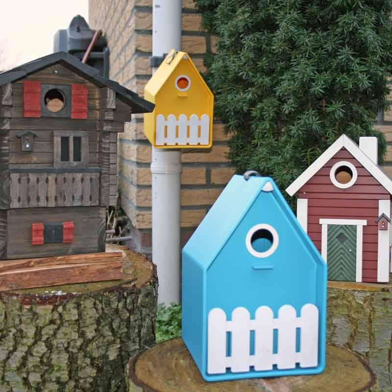 De leukste vogelhuisjes/nestkastjes & echte vogelvilla's!!