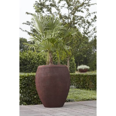 Plantenbak: Vaas Breeze  rust  Ø 62x74cm