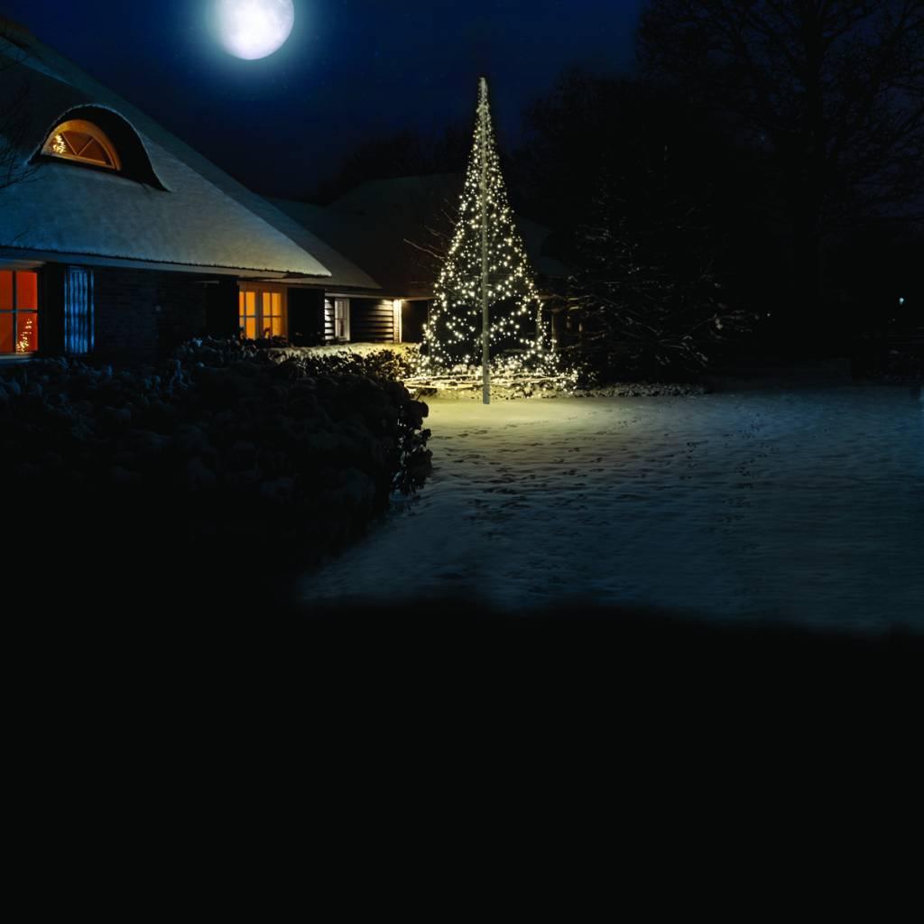 Kerst in de tuin met een Fairybell Kerstboom