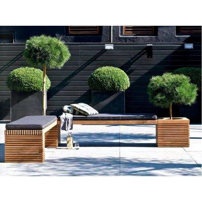 Modulo teak houten zit combinatie 1