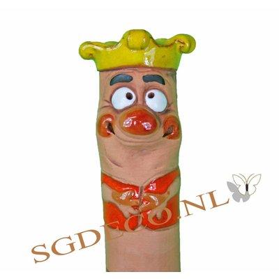 Bewaterings-worm Koning van poreus keramiek