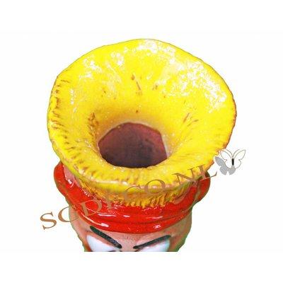 Bewaterings-worm Yup van poreus keramiek
