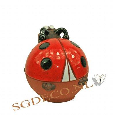 Decoratieve tuinbol Lieveheersbeestje