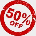 Actie!!! 50%