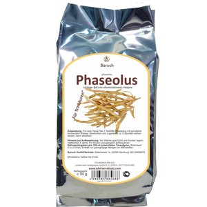 Phaseolus (getrocknete Bohnenhülsen)
