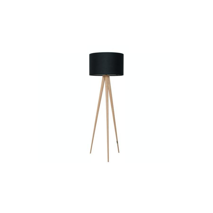 Vloerlamp Tripod Wood