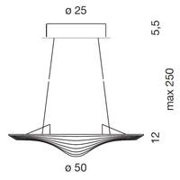 Hanglamp Sestessa Cabrio LED